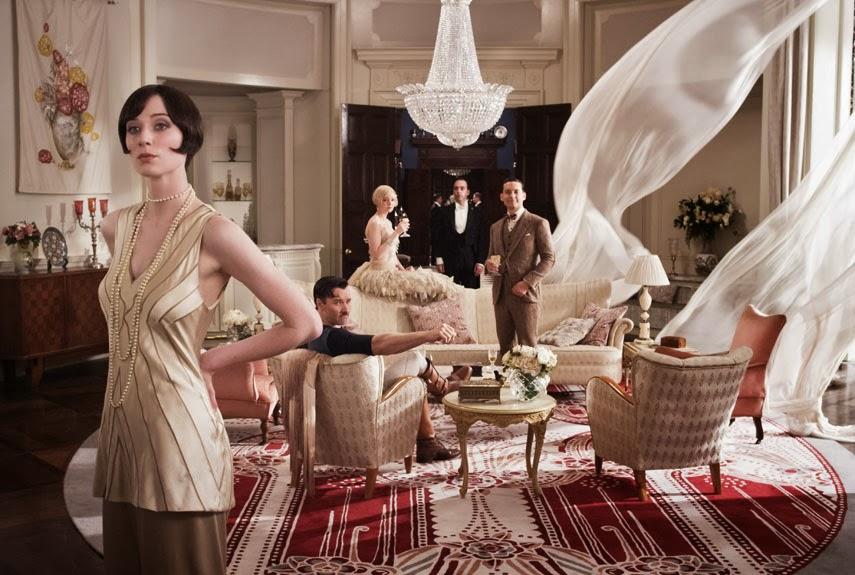 Wielki Gatsby - wnętrza.