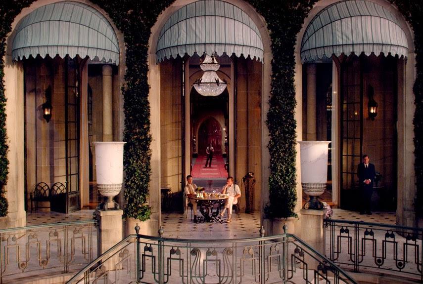 The Great Gatsby set, www.littlemissarchitect.com