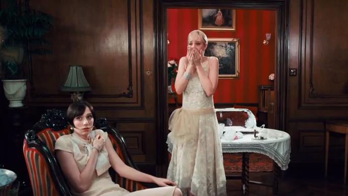 The Great Gatsby set, stroje