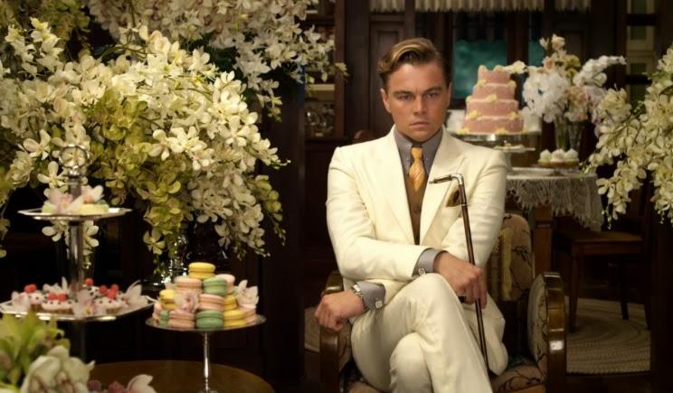 The Great Gatsby set, Leonard di Caprio. Wielki Gatsby