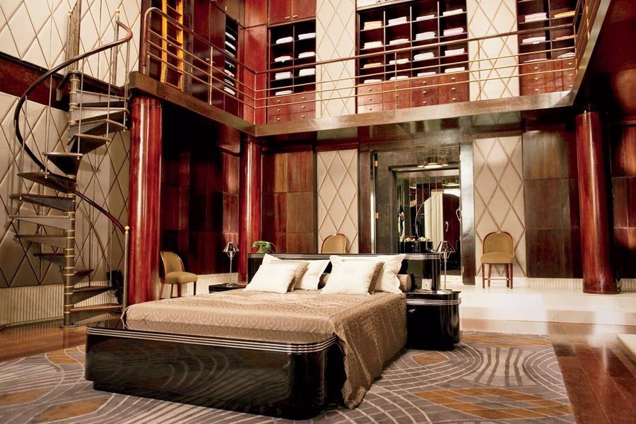 The Great Gatsby set, design, wnętrza, architektuda Art Deco, Wielki Gatsby