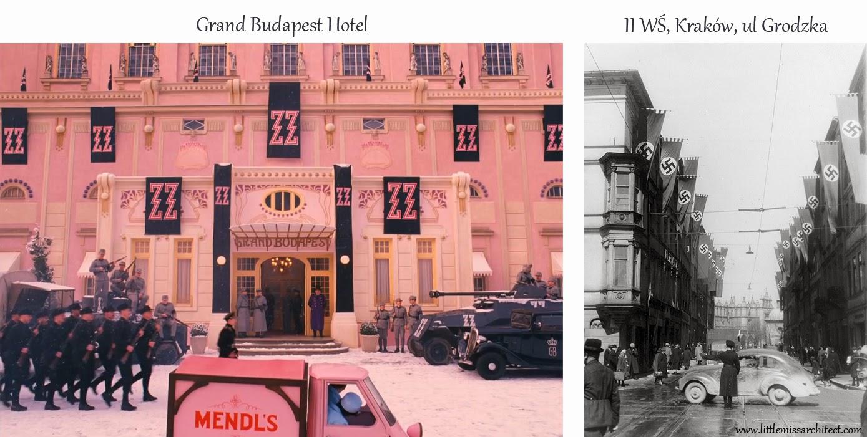 Grand Budapest Hotel, symbole faszystowskie