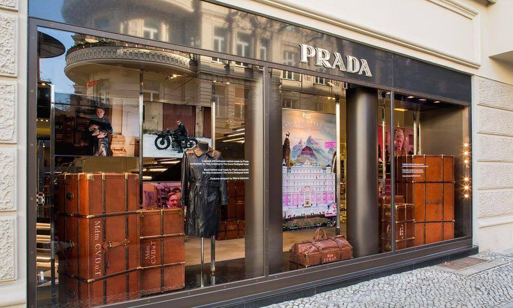 Grand Budapest Hotel, walizki Prada