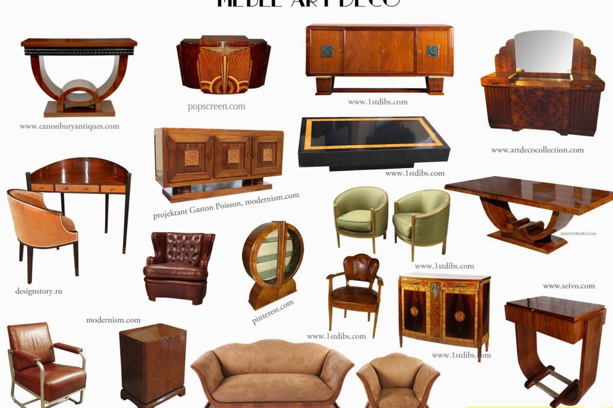 Meble Art Deco – cechy charakterystyczne pięknych mebli okresu międzywojennego | HISTORIA WNĘTRZ