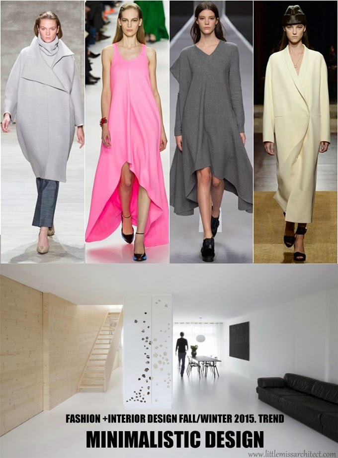 trendy wnętrza 2015, trendy wnętrzarskie 2015,minimalizm we wnętrzach
