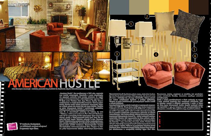 American Hustle, wnętrza, scenografia, wnętrza filmowe, amerykańskie wnętrza