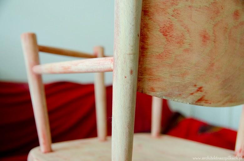 Odnawianie mebli drewnianych  krok po kroku, farby kredowe annie sloan