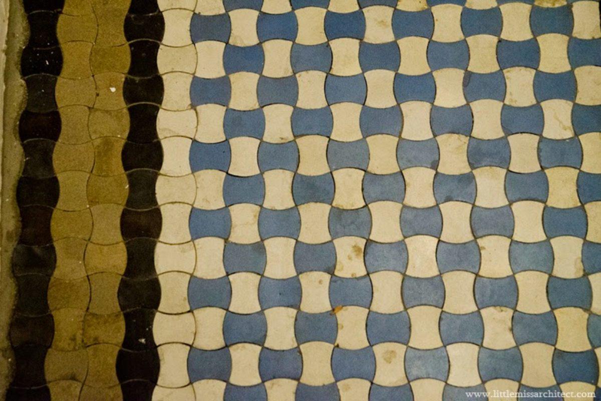 Ornamentowe płytki podłogowe: inspiracje ze starych kamienic | KAMIENICE