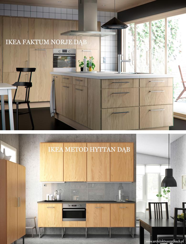 Kuchnie Ikea Metod I Faktum Porownanie Wymiarow I Cen Porady Architekta Architekt Na Szpilkach
