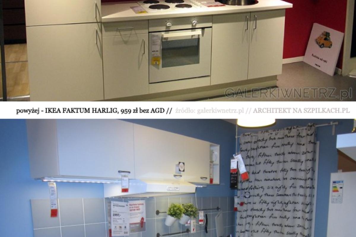 Kuchnie IKEA METOD i FAKTUM  – porównanie wymiarów i cen | PORADY ARCHITEKTA