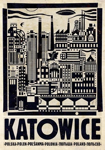 Plakaty Ryszarda Kaji - Polska, polskie miasta i regiony.