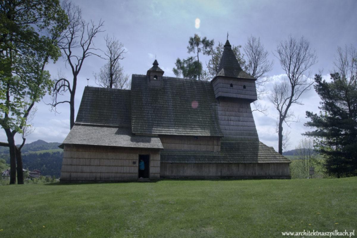 Piękne wnętrze drewnianego kościoła św. Marcina w Grywałdzie | W MOIM OBIEKTYWIE