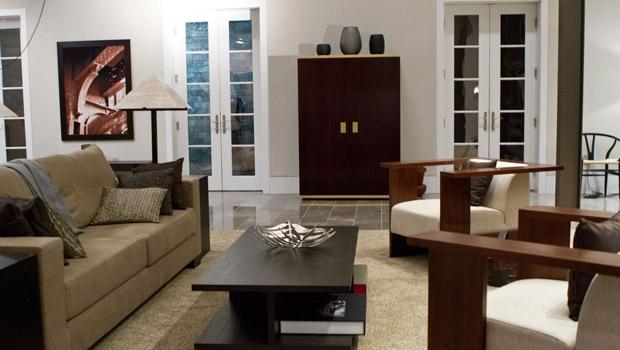 Wnętrza z filmu Paranoja. Nowojorski apartament Adama Cassidy.