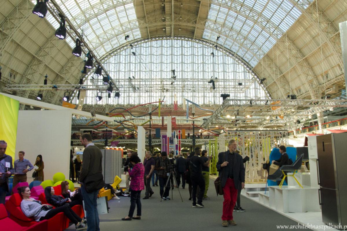 Trendy we wnętrzach z London Design Week | TRENDY