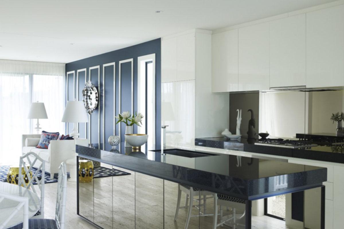 Magia lustra w…kuchni. Lustro nad blatem kuchennym | KUCHNIE
