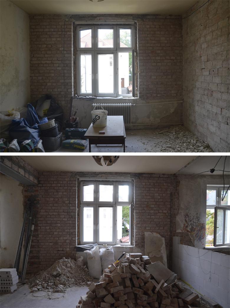Remont mojego mieszkania w kamienicy.