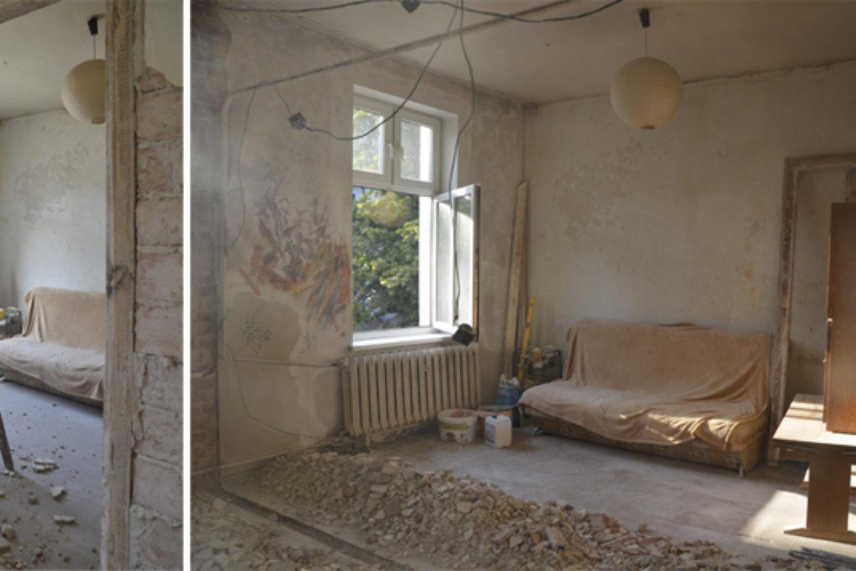 Postępy remontu mieszkania w kamienicy oraz pierwsze zakupy | MOJE MIESZKANIE odcinek 3