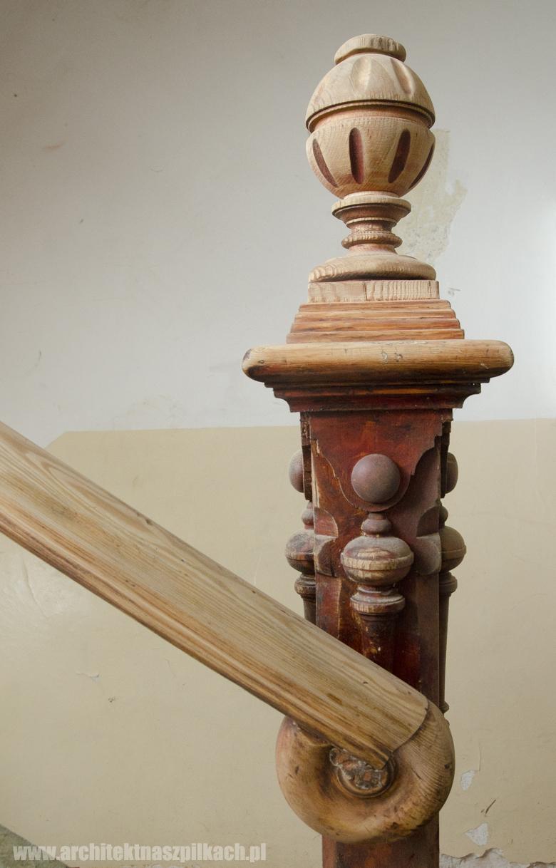 klatka schodowa, rzeźby