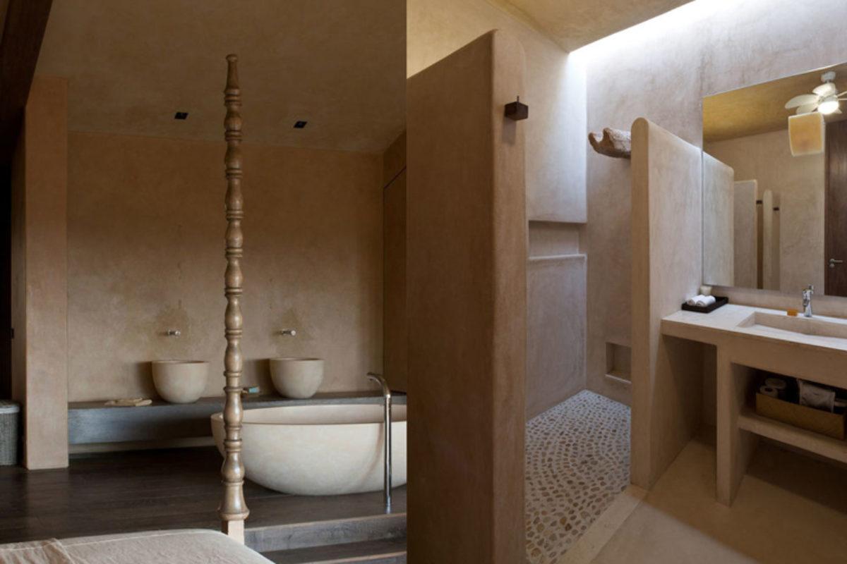 Tadelakt – tynk marokański i minimalistyczne łazienki bez kafli | ŁAZIENKA