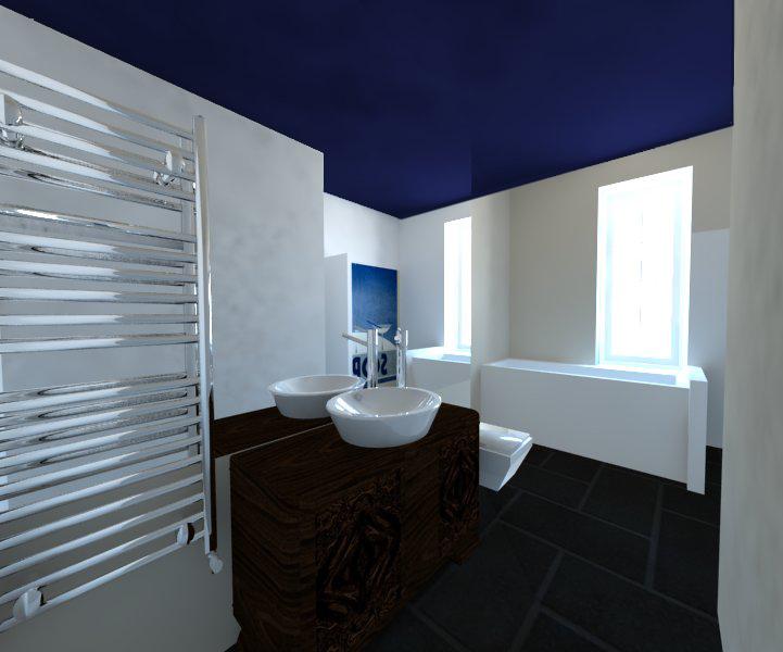 Moja łazienka - układ, koncepcja aranżacji i pierwsze zdjęcia.