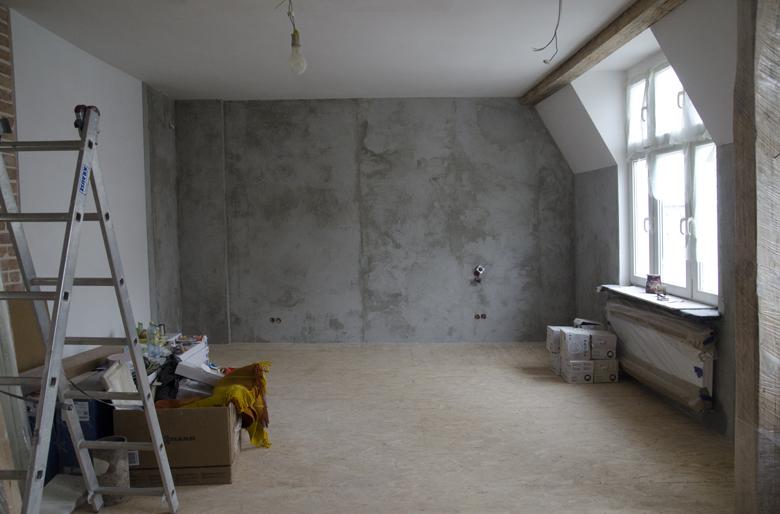 Remont mieszkania na poddaszu w kamienicy