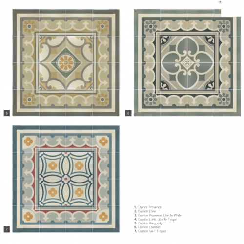 orientalny wzór, płytki Equipe Ceramicas