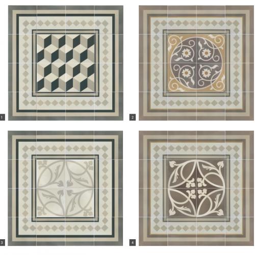 wzory z płytek ceramicznych, Equipe Ceramicas