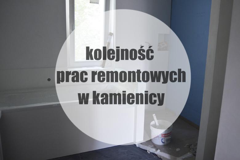 Kolejność prac remontowych w mieszkaniu