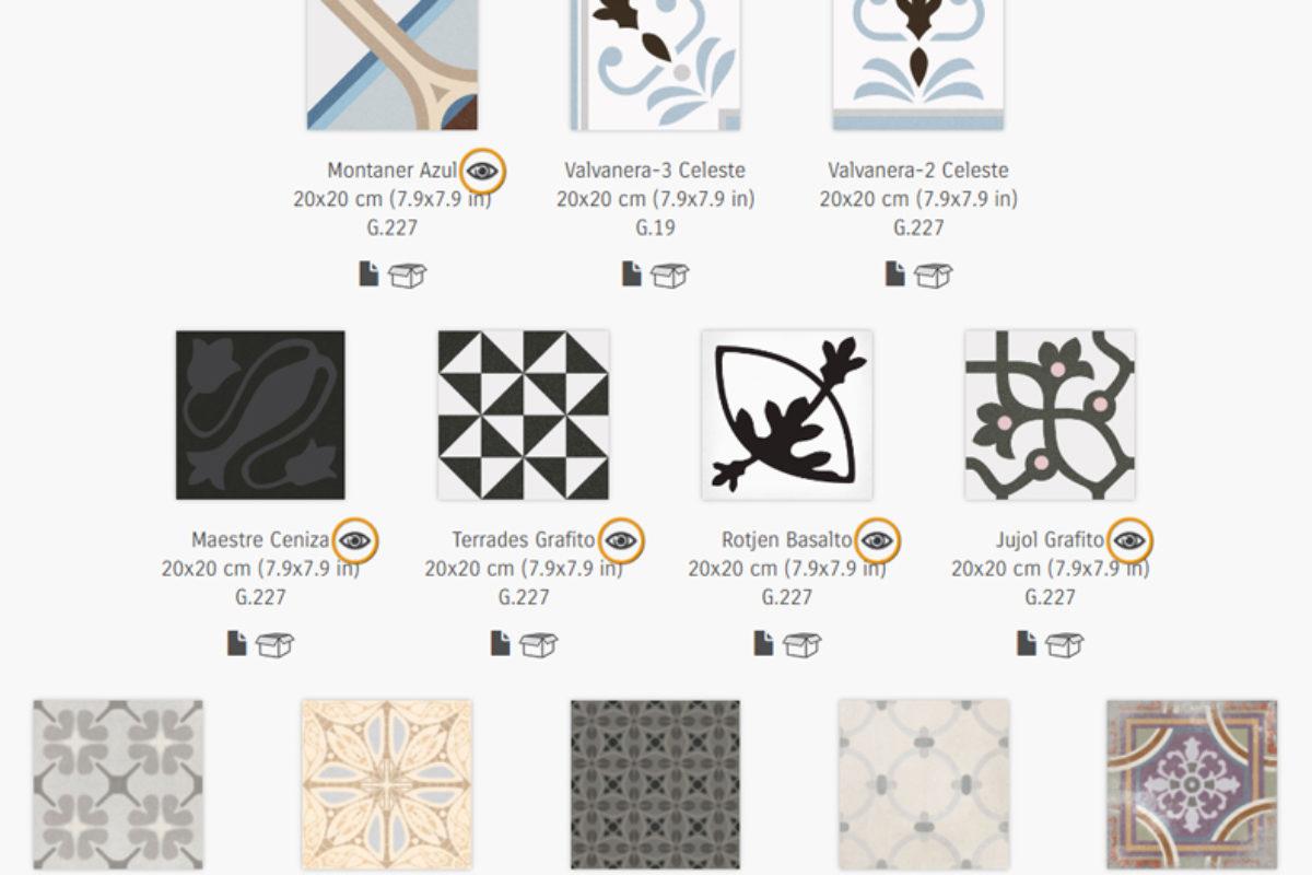 Podłogowe płytki ceramiczne z orientalnymi wzorami | PORADY ARCHITEKTA