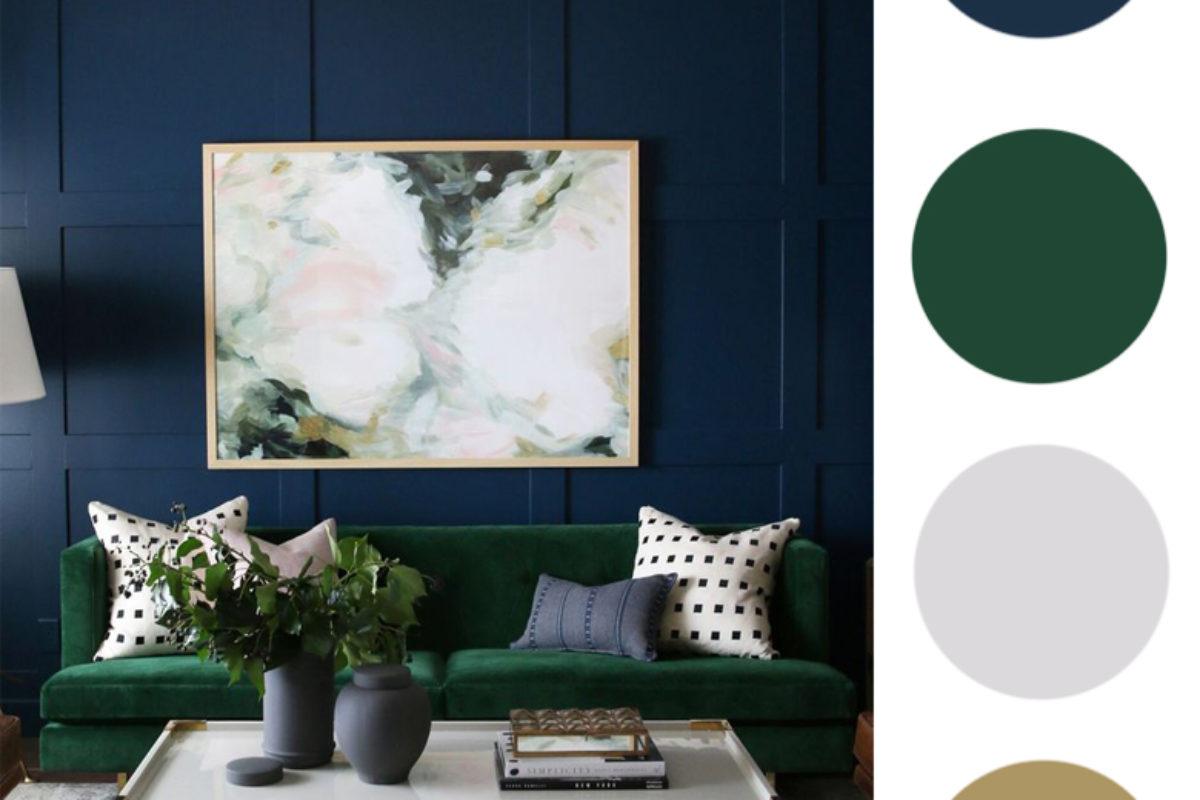 Jak łączyć kolory we wnętrzach? ZIELONY | PORADY ARCHITEKTA