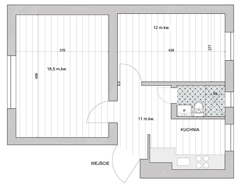 Remont mieszkania w kamienicy - inwestycja i mieszkanie na flipa.