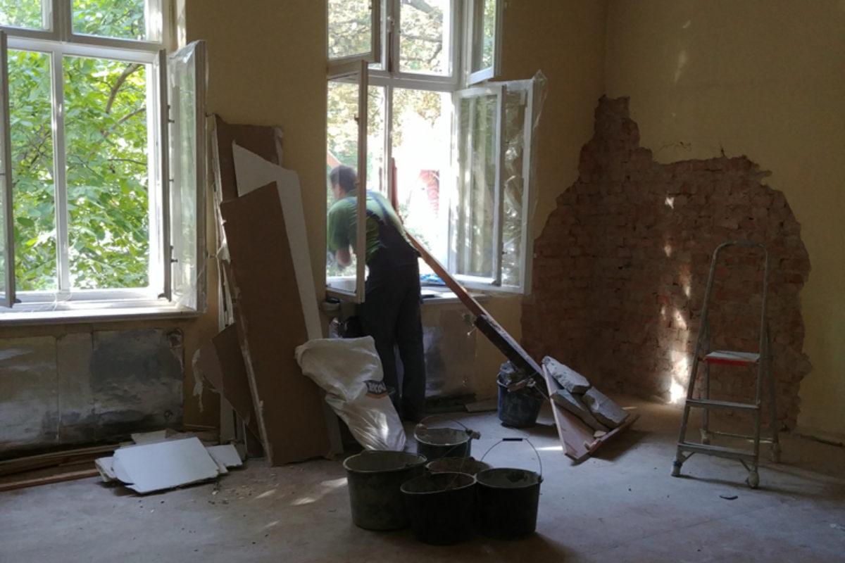 Remont w gdańskiej kamienicy – część 2 – początek remontu i moodboardy
