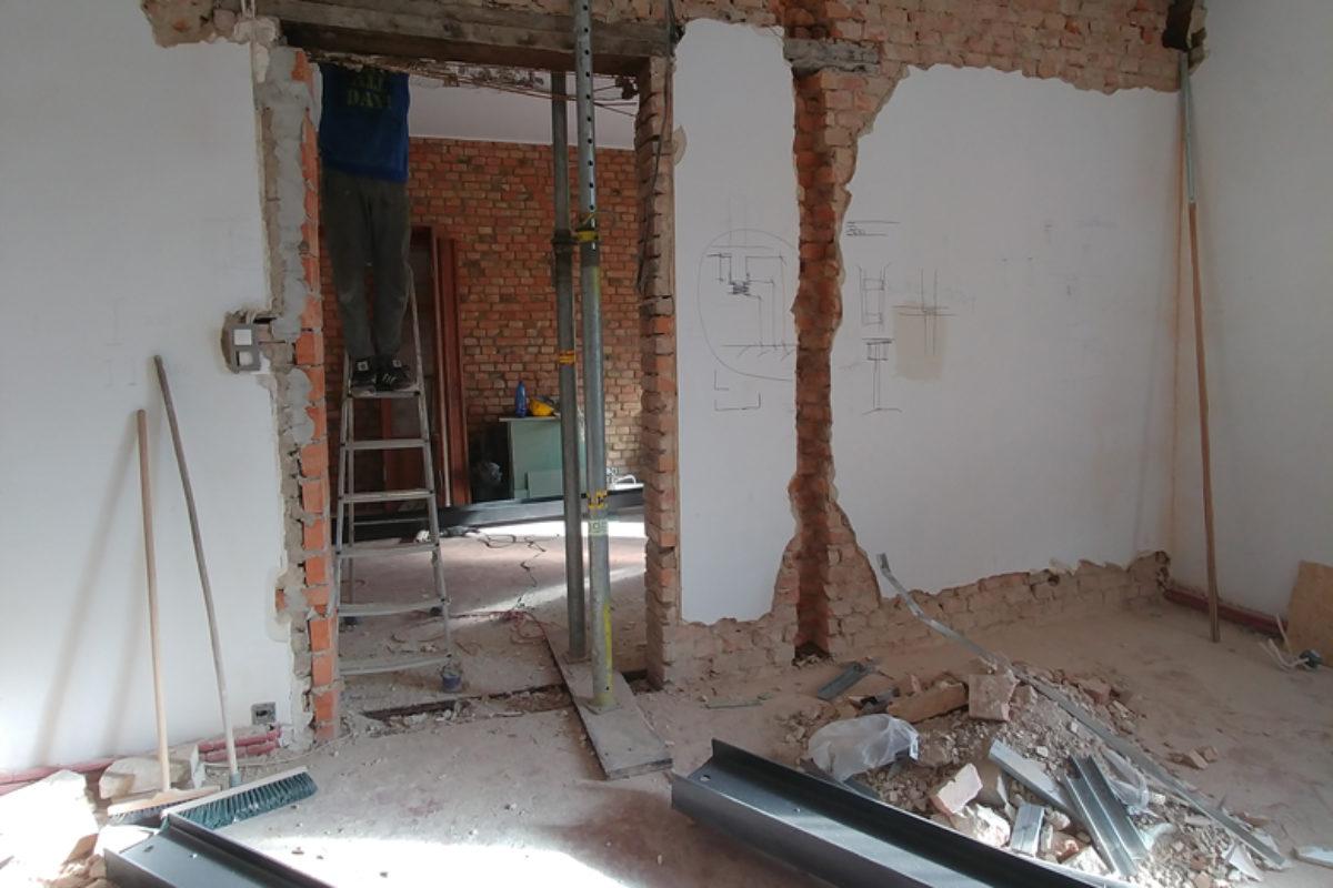 Mieszkanie w gdańskiej kamienicy, część 3 – w wirze remontowym!