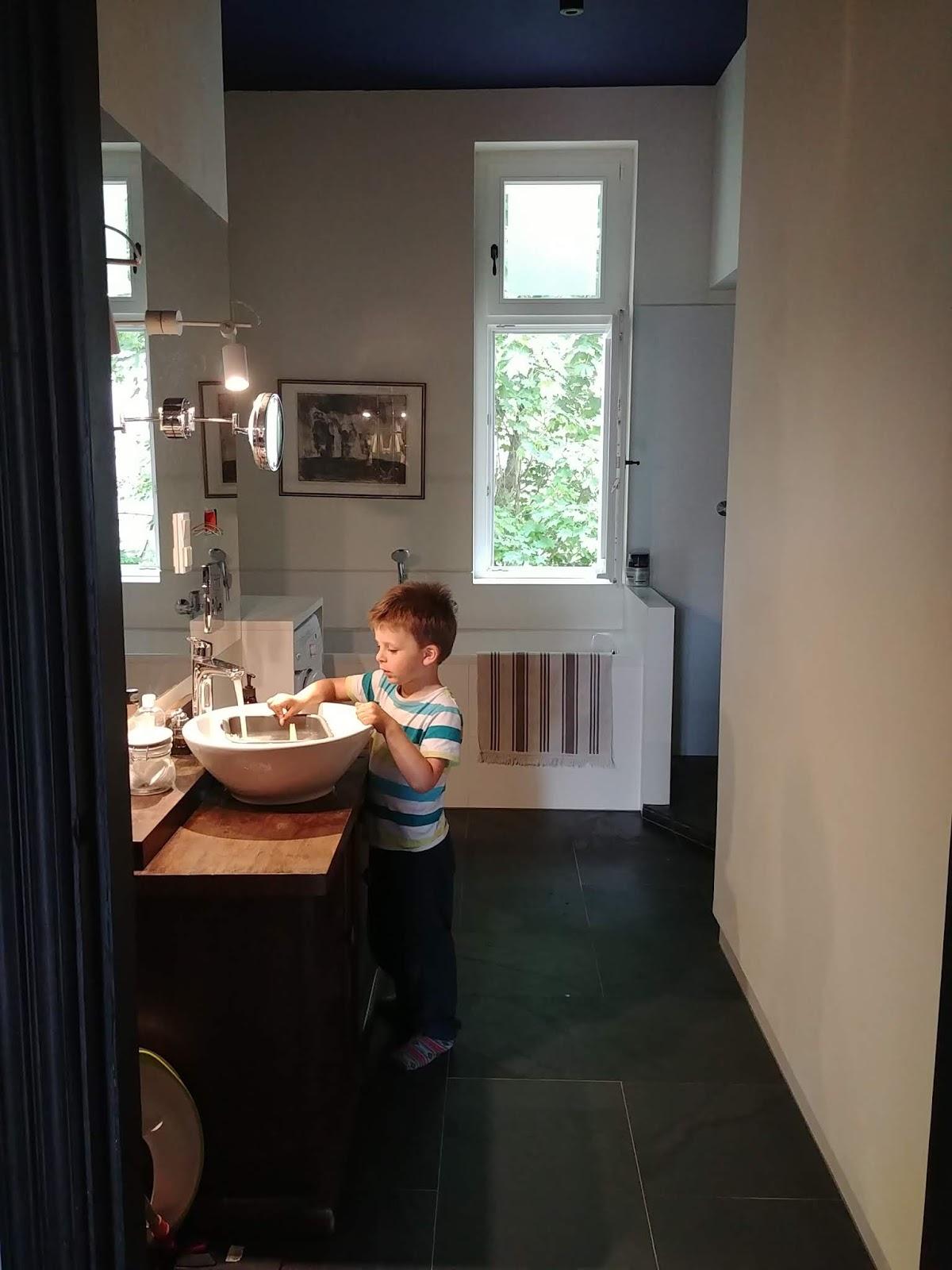 Mieszkanie architekta w kamienicy łazienka